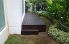 การติดตั้งพื้นไม้เทียม หรือพื้นระแนงไม้เทียมสำหรับงานภายนอก